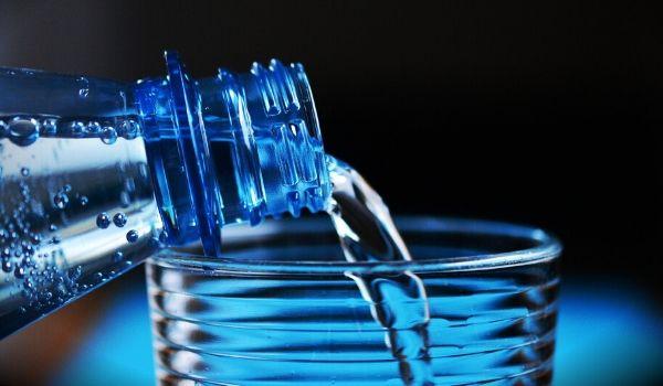 água para o cabelo