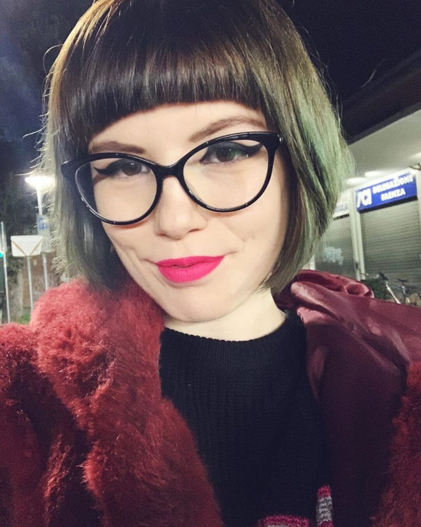 corte de cabelo chanel moderno com franja
