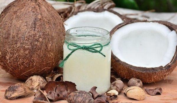 hidratação com óleo de côco