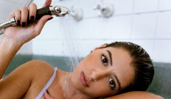 evitar água quente