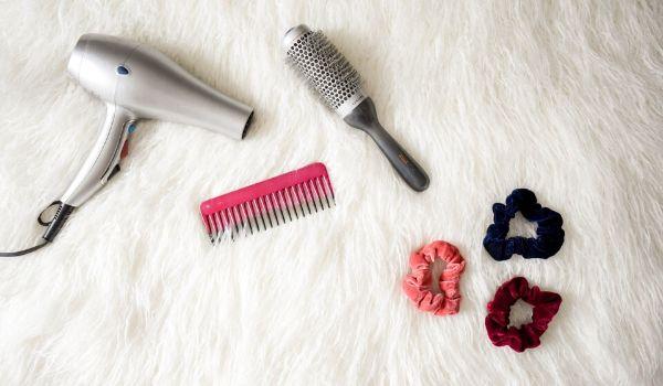 secador e escova