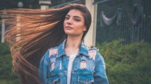 como deixar o cabelo liso natural