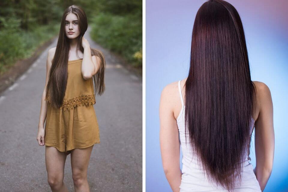 como deixar o cabelo liso